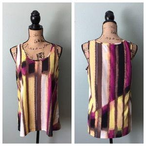 Kenneth Cole size medium striped tank top!